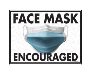 Face Mask Encouraged